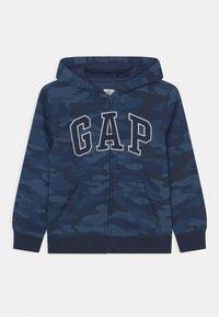 GAP - HOOD - Sweat à capuche zippé - dark blue - 0