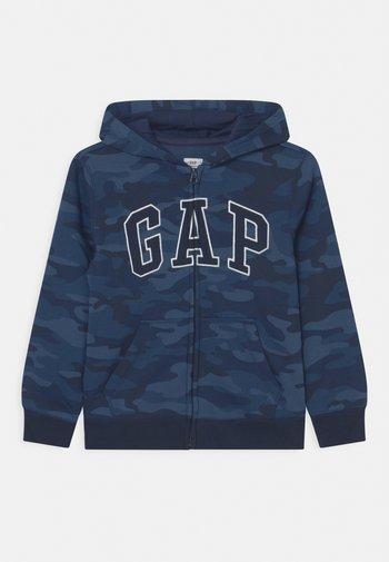 HOOD - Zip-up sweatshirt - dark blue