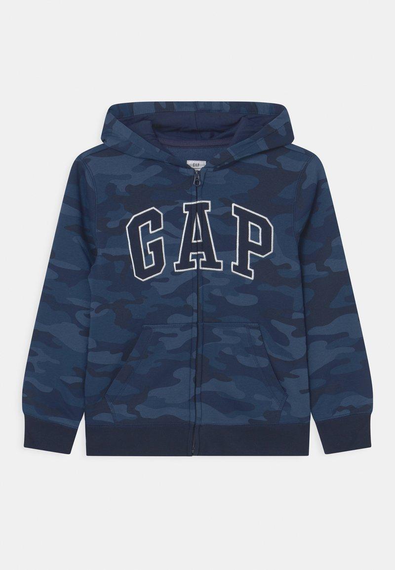 GAP - HOOD - Sweat à capuche zippé - dark blue