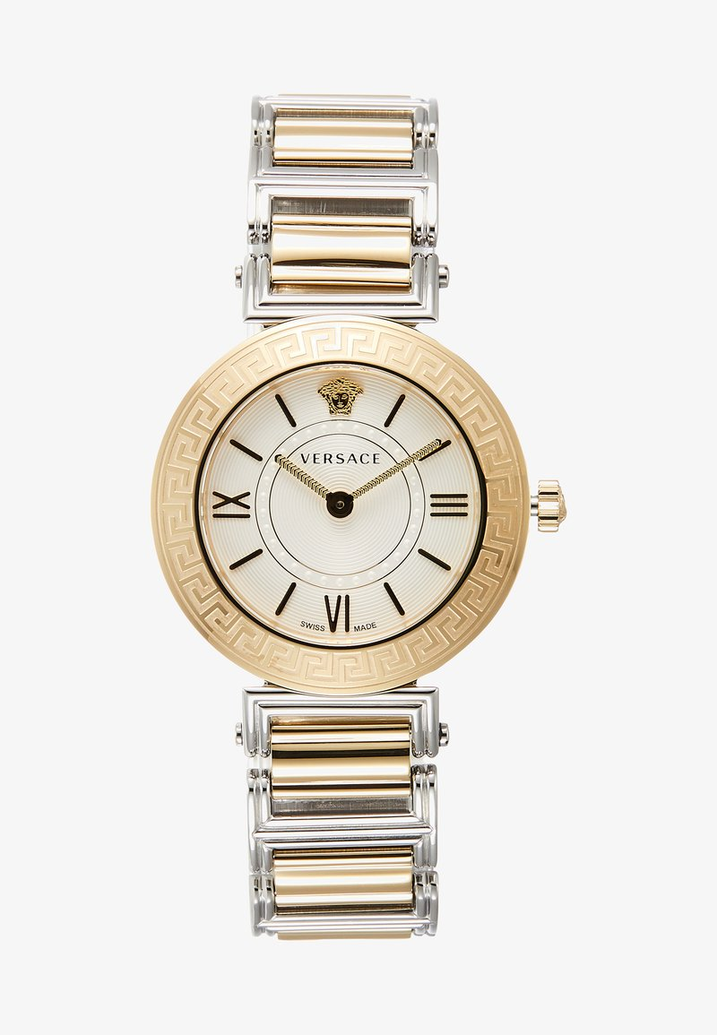 Versace Watches - TRIBUTE - Zegarek - silver-coloured/gold-coloured