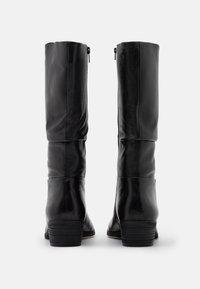 Steven New York - SOLANGE - Vysoká obuv - black - 3