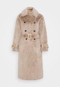 Topshop - REVERSIBLE COAT - Classic coat - mink - 4