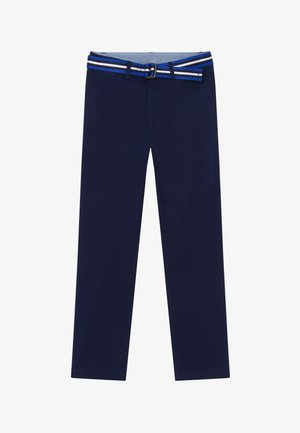 PANT BOTTOMS - Stoffhose - newport navy