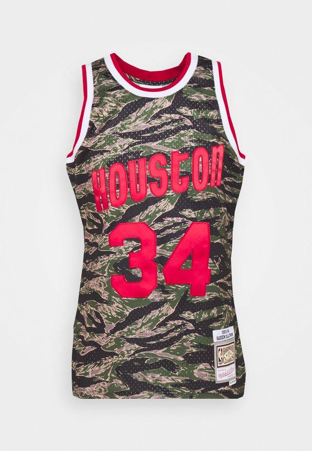 NBA HOUSTON ROCKETS TIGER CAMO SWINGMAN - Vereinsmannschaften - multicolor