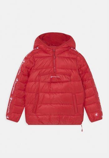 HOODED UNISEX - Winterjacke - red