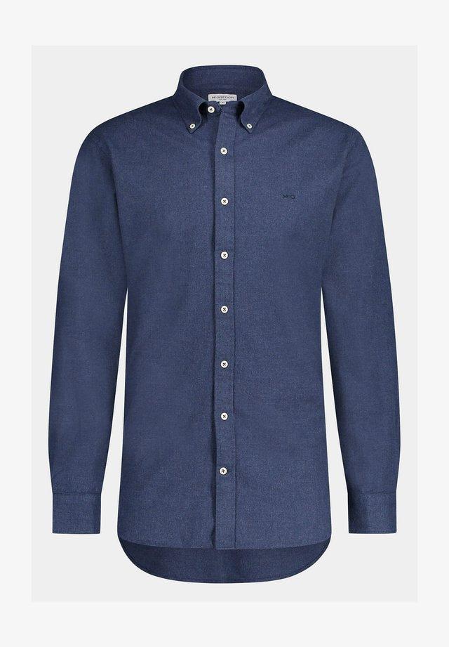 REGULAR FIT FLANNEL - Zakelijk overhemd - bright navy