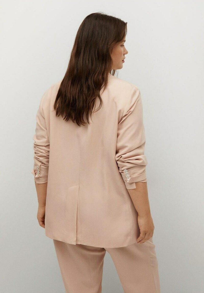 Violeta by Mango - Short coat - pastellrosa