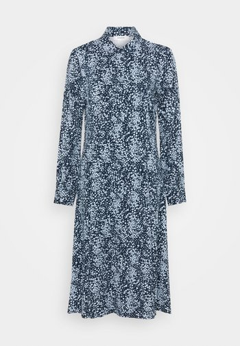 AMAYA RAYE DRESS - Shirt dress - blue