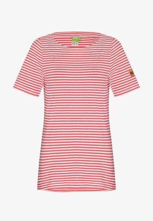 Print T-shirt - white pink