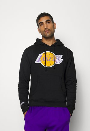 NBA LOS ANGELES LAKERS LOGO HOODY - Mikina skapucí - black