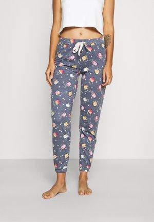 DEAL CUFF PANT - Pyžamový spodní díl - blue marl