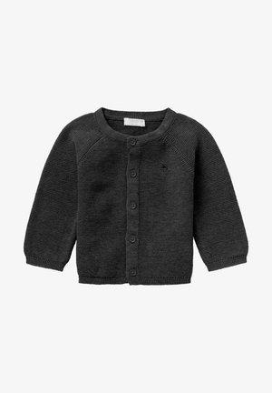 NAGA - Vest - dark grey melange