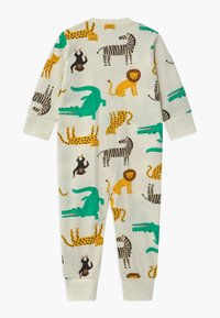 Lindex - MULTI ANIMAL UNISEX - Pyjamas - light dusty white - 1