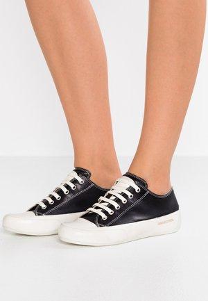 ROCK  - Sneakers - tamponato nero/base panna