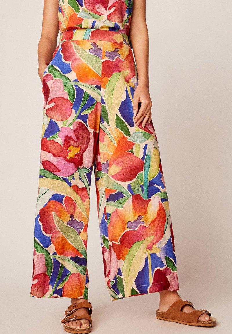 OYSHO - Spodnie materiałowe - multi-coloured
