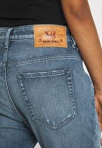 Diesel - D-FAYZA - Relaxed fit jeans - denim blue - 4