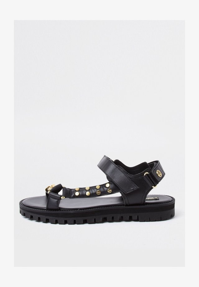 ASYMMETRIC SPORTY  - Sandalen - black