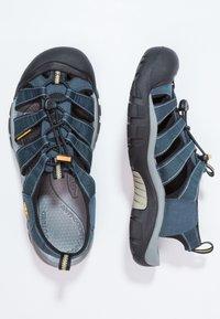 Keen - NEWPORT H2 - Sandali da trekking - navy/medium grey - 2