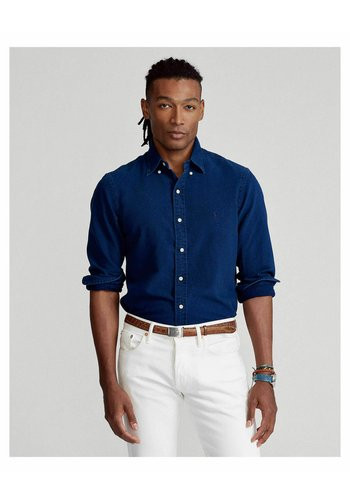 REGULAR FIT - Shirt - denim
