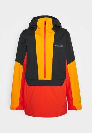 AERIAL ASCENDER™ ANORAK - Ski jas - red quartz/shark/flame orange