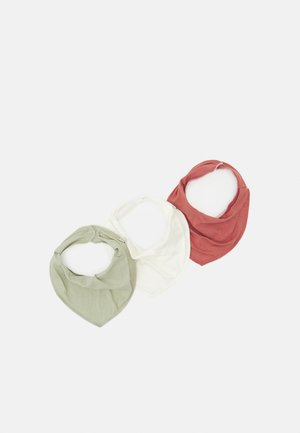 NBFYVETTEBERITA SCARF BIB 3 PACK UNISEX - Bib - withered rose