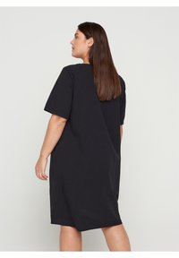 Zizzi - Shirt dress - black - 2
