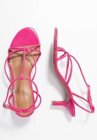 Who What Wear - FREYA - Sandals - magenta - 3