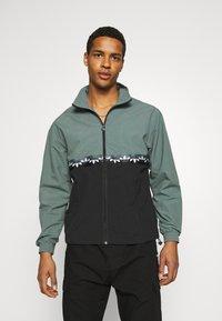 adidas Originals - SLICE - Training jacket - black/blue oxide - 0