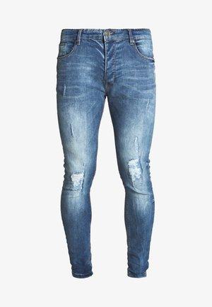 MADDOX - Jeansy Skinny Fit - blue