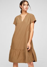 s.Oliver BLACK LABEL - Day dress - brown - 0