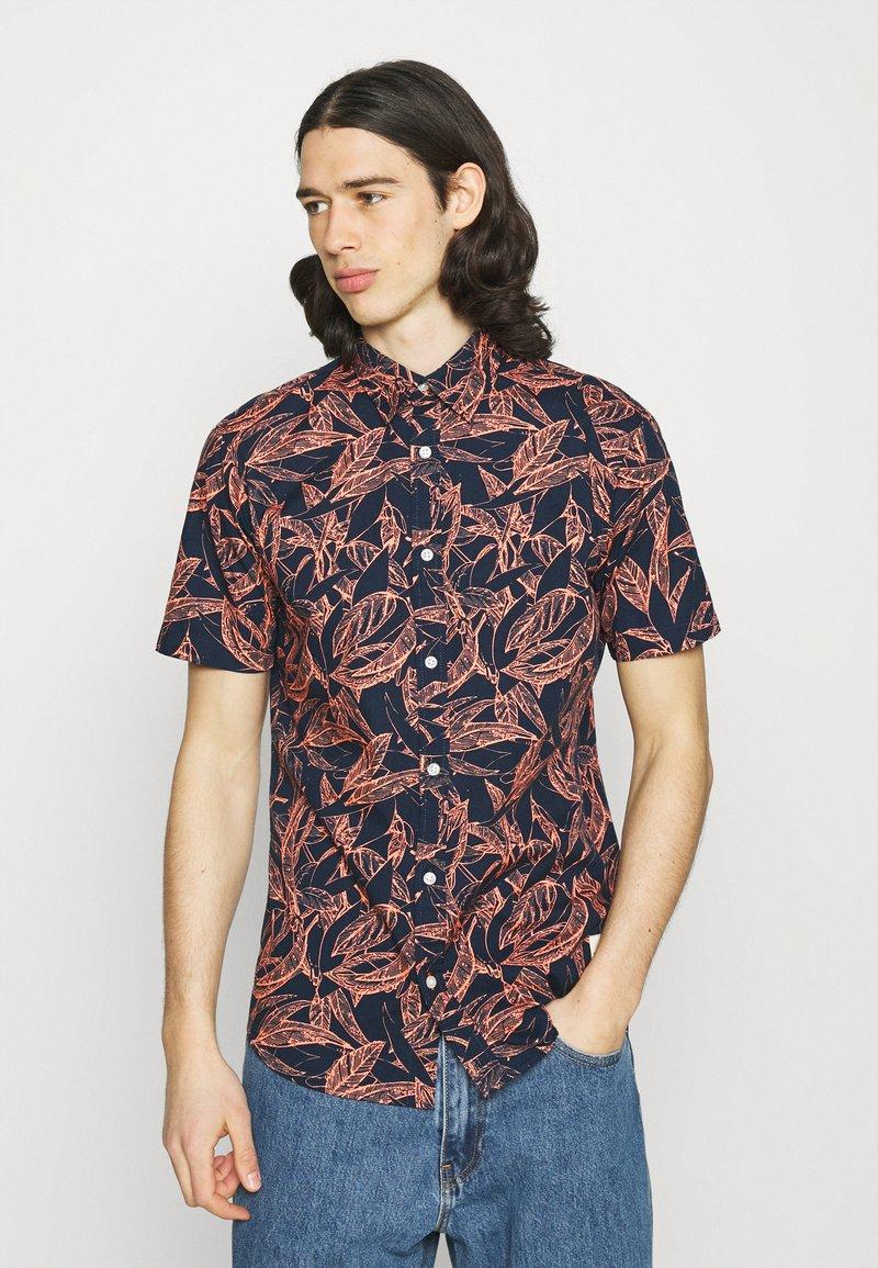 Jack & Jones - JORCHARLIE SHIRT - Shirt - navy blazer