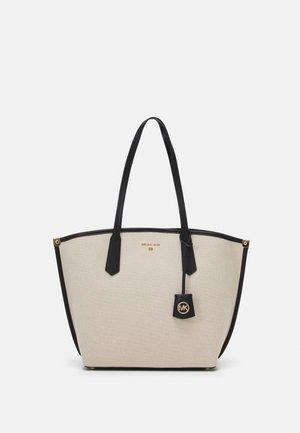 JANE TOTE - Tote bag - natural/black