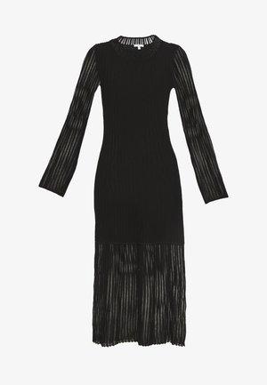 KIMMI - Sukienka dzianinowa - black