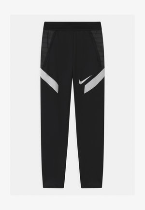 UNISEX - Tracksuit bottoms - black/anthracite/white