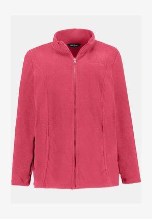 Fleece jacket - granatapfel