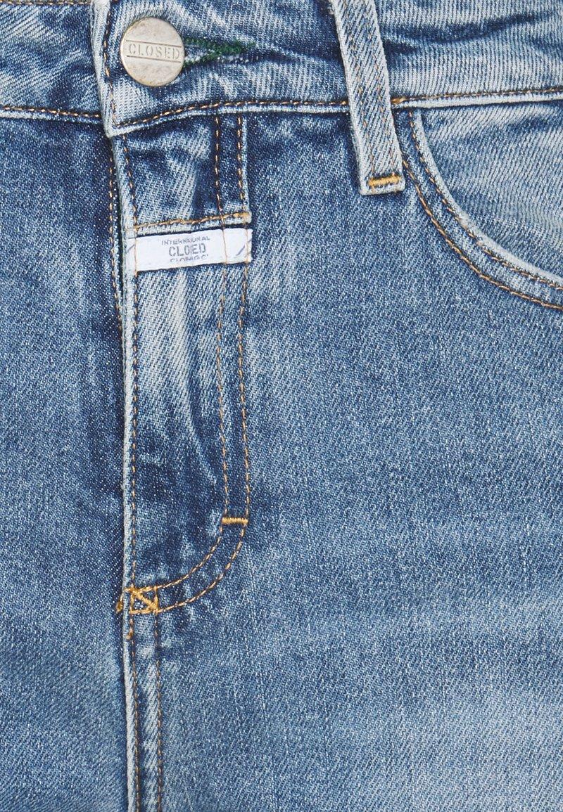 CLOSED - BAKER HIGH - Skinny džíny - blue
