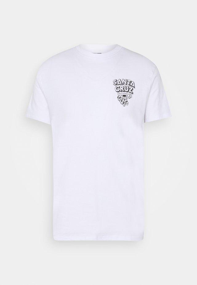 UNISEX INHERIT  - T-shirts med print - white