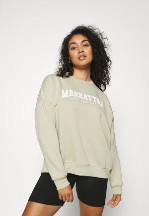 PLUS MANHATTAN  - Sweatshirt - sage