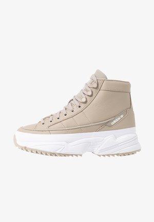 KIELLOR XTRA  - Sneakers hoog - light brown/footwear white