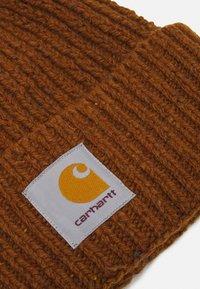 Carhartt WIP - ANGLISTIC BEANIE UNISEX - Adīta cepure - speckled tawny - 2