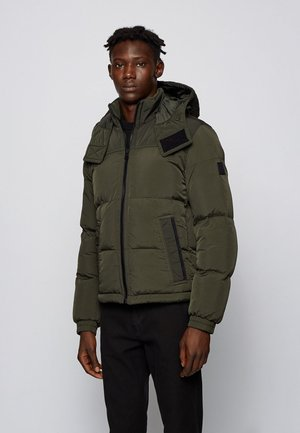 OLOOH - Winter jacket - open green