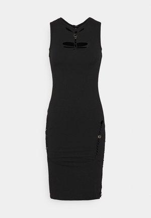 BRAIDEN - Jersey dress - black