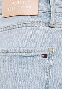 Tommy Hilfiger - ROME STRAIGHT SKIRT LOTA - Pencil skirt - light-blue denim - 4