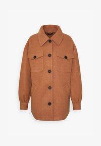 ONLLIVA SHACKET - Classic coat - camel