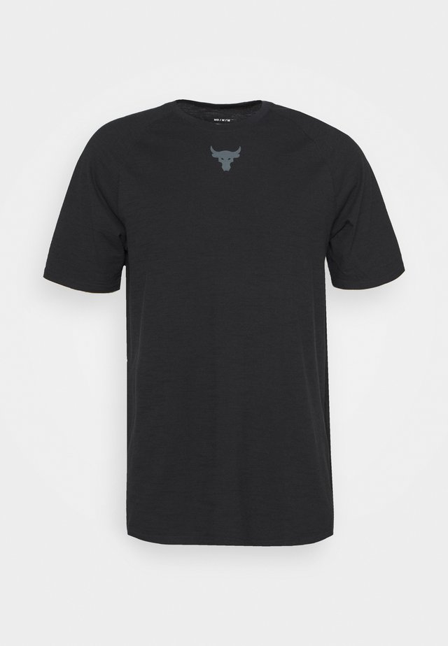 PROJECT ROCK  - T-shirt con stampa - black