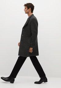 Mango - UTAH - Classic coat - mittelgrau meliert - 3
