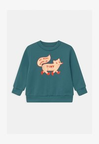TINYCOTTONS - TINY FOX - Sweatshirt - sea blue/cream - 0