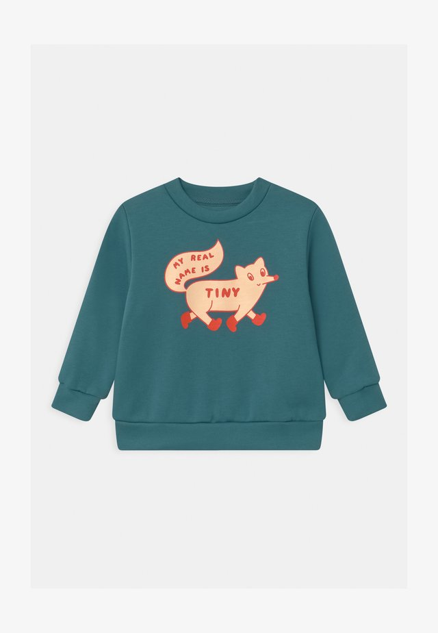 TINY FOX - Sudadera - sea blue/cream