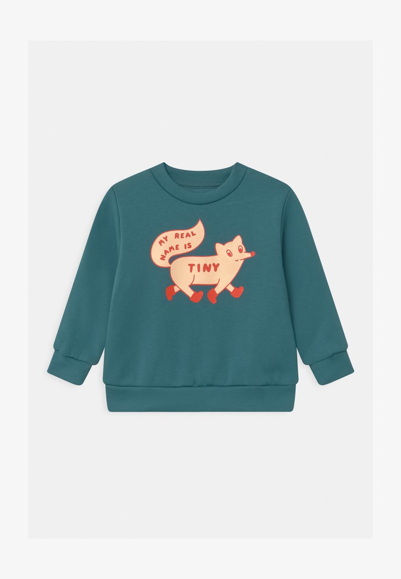 TINYCOTTONS - TINY FOX - Sweatshirt - sea blue/cream