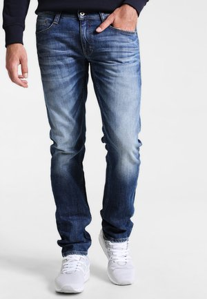 OREGON TAPERED - Jeans Tapered Fit - light scratched used